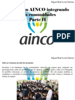 Edgard Raúl Leoni Moreno - Fundación AINCO Integrando MásComunidades, Parte II