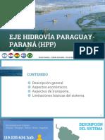 Eje Hidrovia Paraguay- Paraná