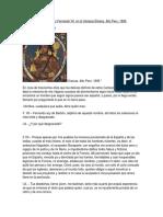 Dialogo Entre Atahualpa y Fernando VII en Ls Campos Eliseos. Alto Peru. 1809.