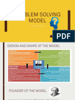 Problem Solving Model (Explanation of the Model)
