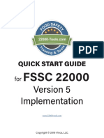 FSSC 22000 Version 5 Quick Start Guide