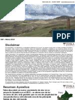 20190313. AYAWILCA Un Creciente Recurso de Zinc en El Centro Del Perú