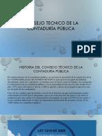 Consejo Tecnico de La Contaduría Pública