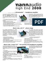 highend2008 news screen