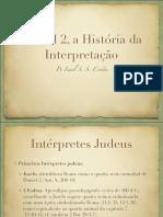 Daniel 2 a história da interpretação