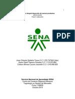 AP012-EV03 Informe de Capacitación de Personal