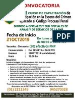 CursoCapacInvestEscenaDelCrimenAplicadoAlCodigoProcesalPenal_SET2019_GrupoAscensoPNP