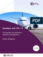 Amadeus and ITIL 4