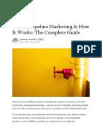Marketing Pipeline