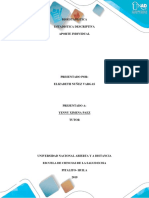 APORTE INDIVIDUAL Estadística Descriptiva