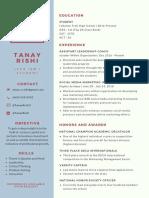tanay rishi resume  1