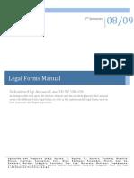 Legal Forms Manual Ateneo Law School (1)