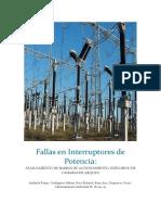 Fallas en Interruptores de Potencia