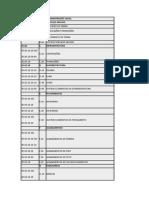 planilha estrutura da informação