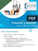 Formalización Empresas Perú OCUPATEC