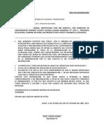 Carta Notarial Julio Gomez