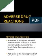 Adverse Drug Reactions Ddm1