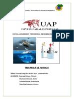 Formas Integrales de Las Leyes Fundamentales.docxmecanica