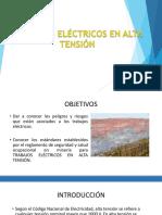 5. Trabajos Eléctricos en Alta Tensión