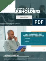 La Empresa y Sus Stakeholders