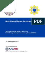 Bohol Island Power Supply Plan