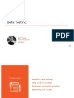 Beta Testing Slides