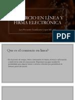 Comercio en Línea y Firma Electrónica