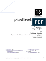 Sadler2010. PH y Acidez Titulable