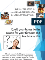 Cultural Beliefs in Housing