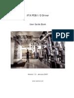 PDB Driver Manual