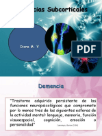 Expo Demencias Subcorticales