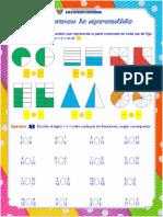 Ficha de Comparación de Fracciones