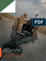 105mm Light Gun Brochure (English)