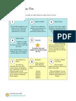 tic-tac-toe menu choice board template from shakeuplearning