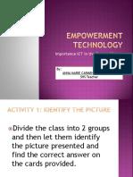 Empowerment Technology ( COT 3 )