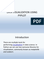 Data Visualisation Using Pyplot