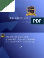 Types of welding in shipbuilding