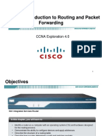 CCNA Exp2 - Chapter01 - Introduction to Routing and Packet Forwarding