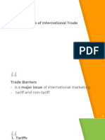 The Dynamics of International Trade
