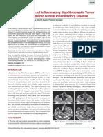 A Rare Association of Inflammatory Myofibroblastic Tumor of Maxilla and Idi