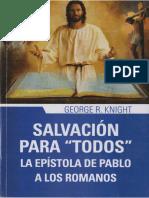 George R. Knight - Salvación Para Todos, La Epístola de Pablo a Los Romanos