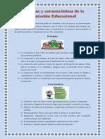 caracteristicas y principios de la orientacion educacional
