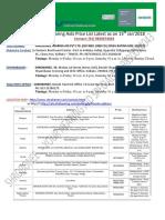 Siemens Hearing Aid Price List 2017-18 Download