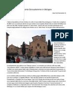 Santa Gerusalemme in -Bologna Con Immagini