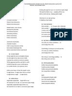 Daftar lagu