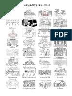 Les Endroits de La Ville Dictionnaire Visuel 55992