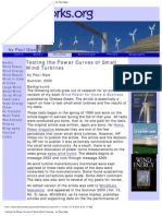 Testing the Power Curves of Small Wind Turbines _ by Paul Gipe
