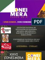 Coneimera Cusco 2019 . 01