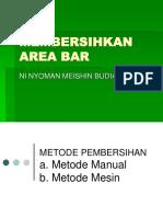 1. Meishin Membersihkan Area