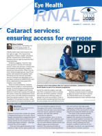 Cataract Services Ensuring Access for Everyone Article